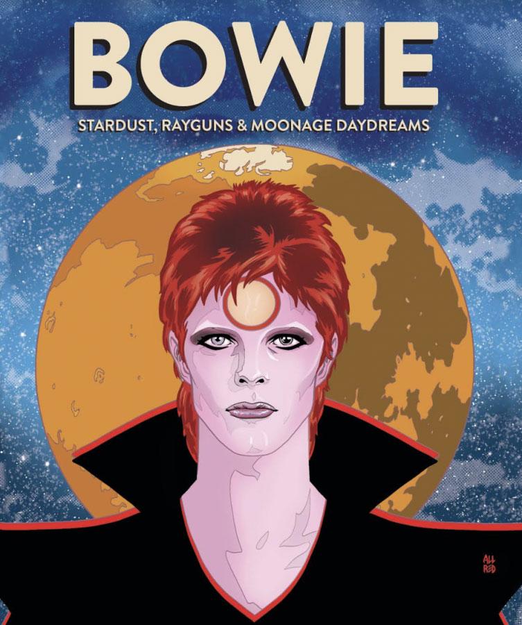 Esce in Italia la biografia a fumetti di David Bowie
