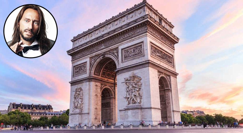 Bob Sinclar terrà un dj-set in cima all'Arco di Trionfo di Parigi lunedì, per beneficenza