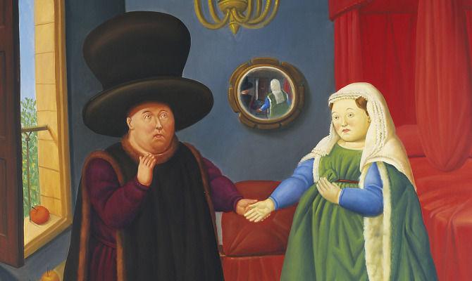 Tutta la carriera di Fernando Botero in una mostra con 67 opere di grande formato