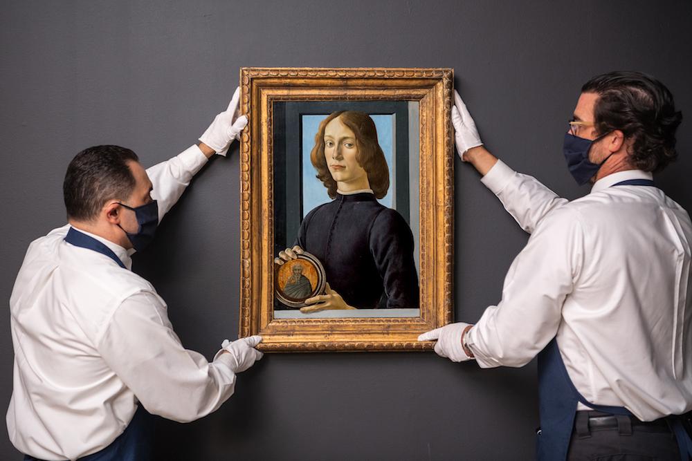 In vendita da Sotheby's un ritratto attribuito a Botticelli: sarà un'asta storica