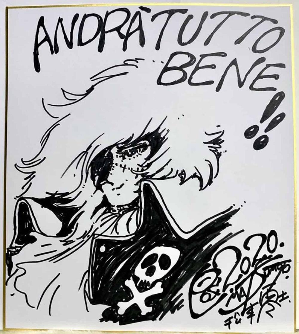 Venduto all'asta a 7mila euro il disegno di Matsumoto a sostegno dell'ospedale Molinette di Torino