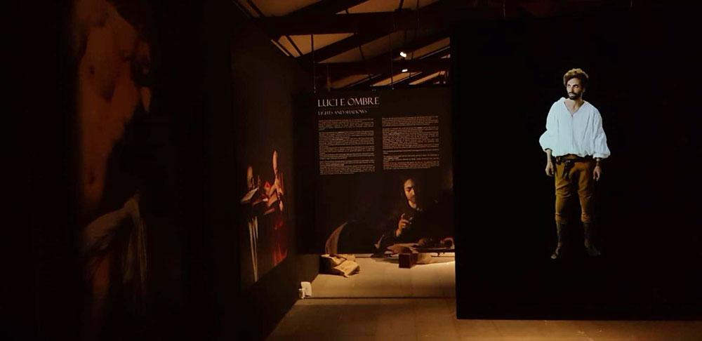 Un'immersione multimediale tra le opere di Caravaggio al Castello Ursino