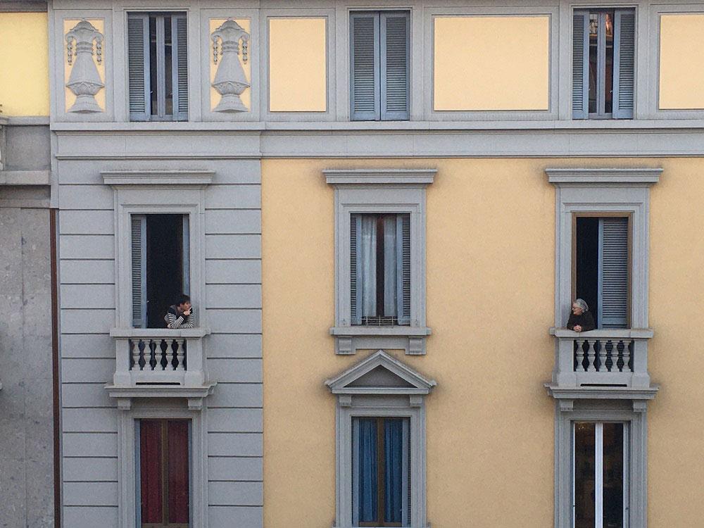 Cartoline dall'Italia per raccontare i paesaggi del paese nell'emergenza sanitaria