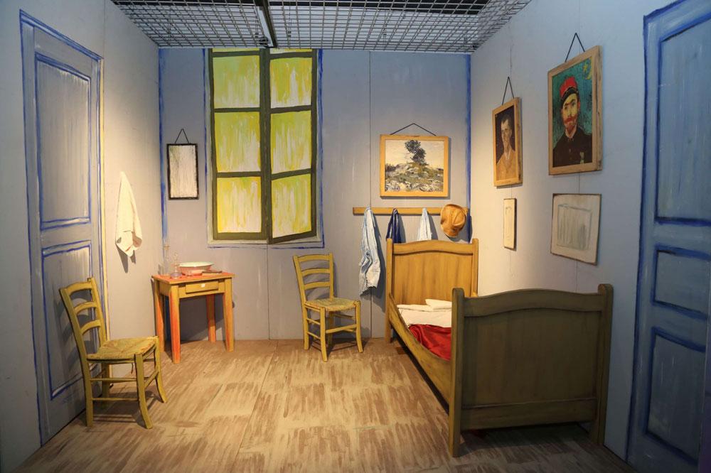 Un viaggio immersivo nella stanza e nelle opere più iconiche di Van Gogh. A Parma dal 13 giugno 2020