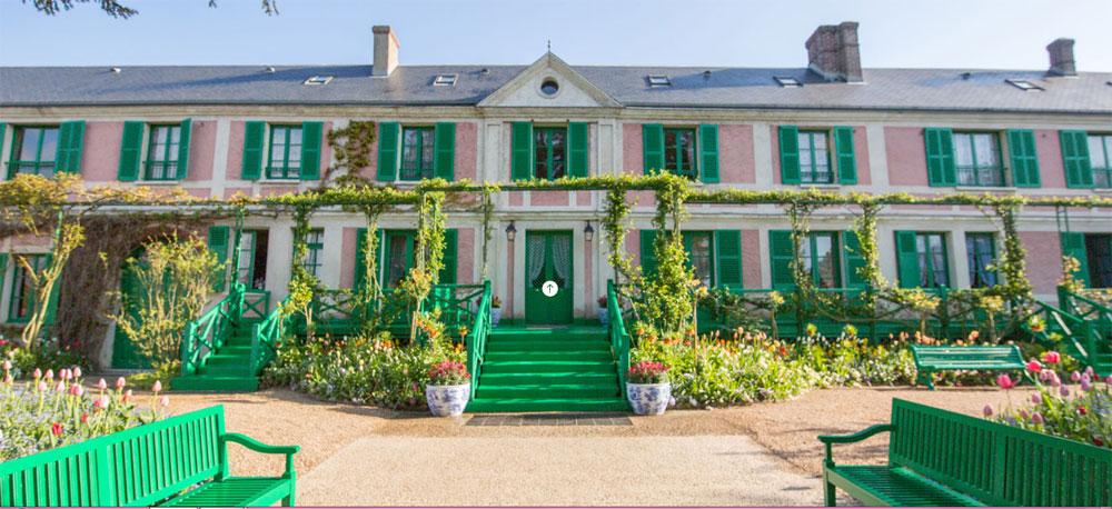 Tour virtuale nella casa di Monet a Giverny