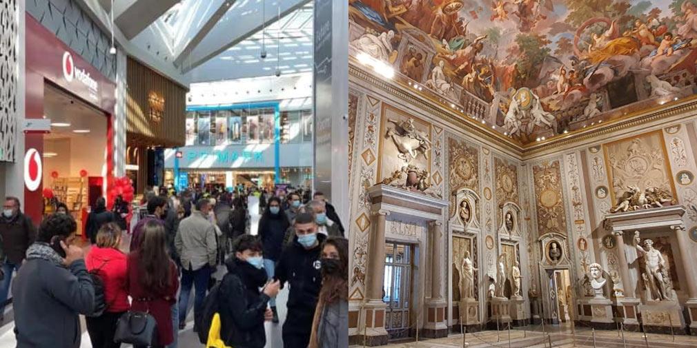 Perché i centri commerciali sì e i musei no? ICOM Italia scrive a Conte e ai ministri