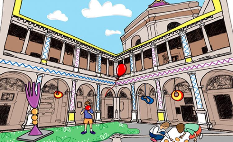 Kid Pass Days: divertitevi a creare il vostro Chiostro del Bramante