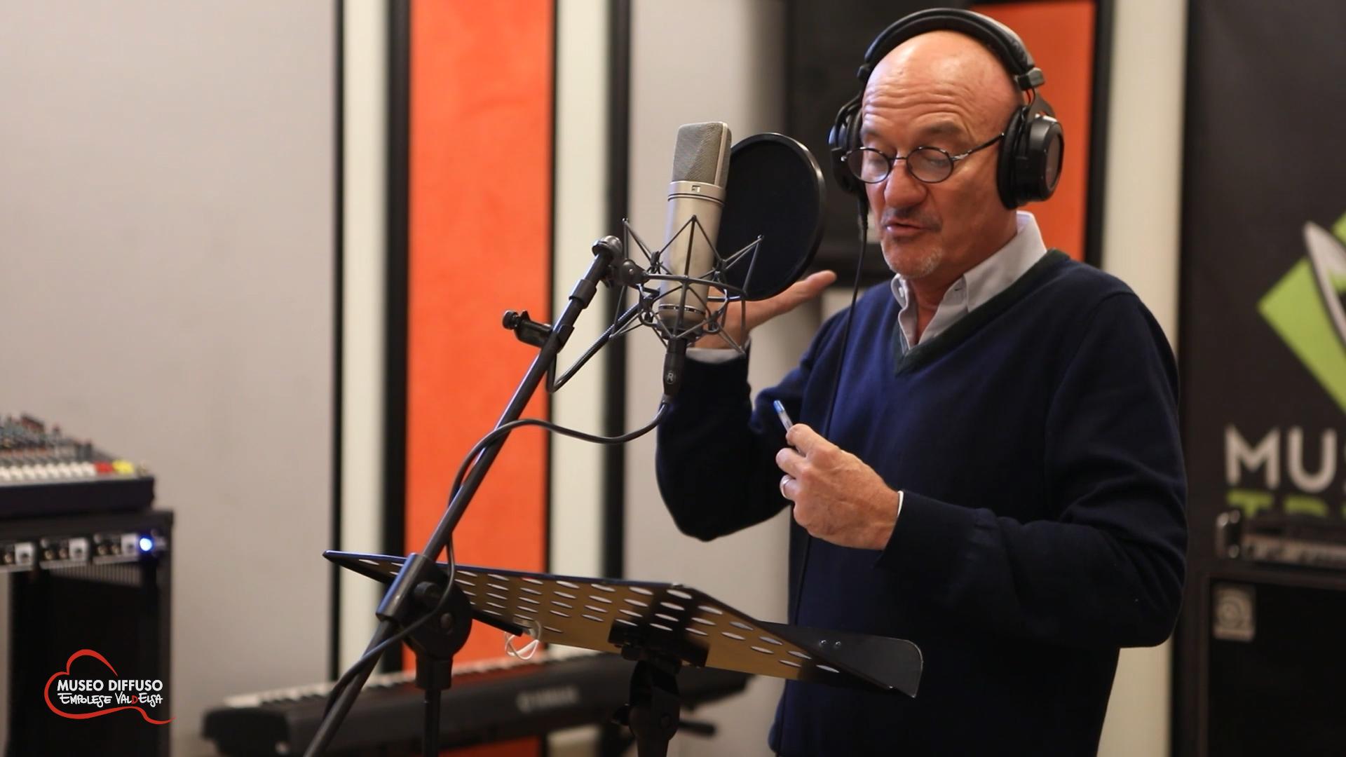 Claudio Bisio regala la sua voce per l'audioguida gratuita dei musei dell'Empolese Valdelsa