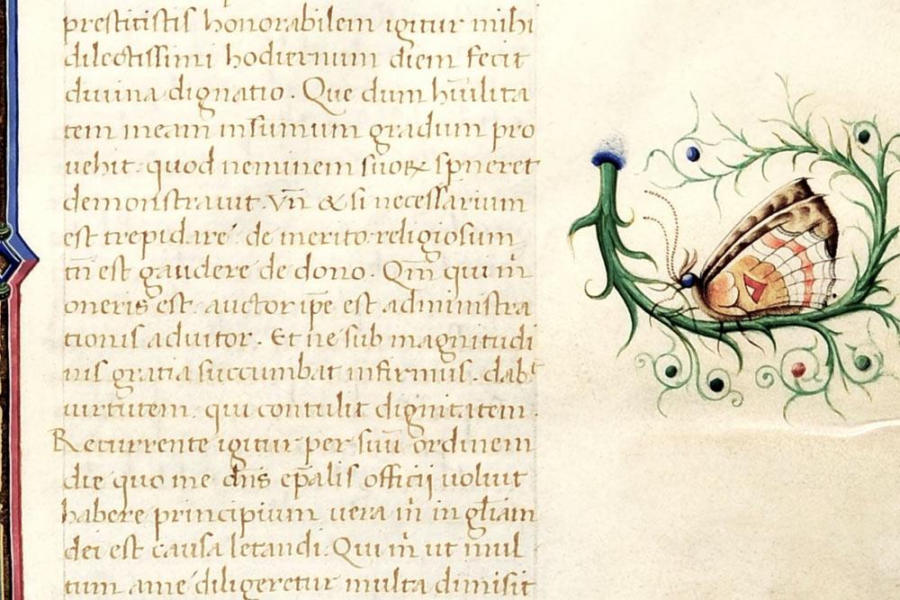 Cesena, due splendidi codici del XV secolo esposti alla Biblioteca Malatestiana