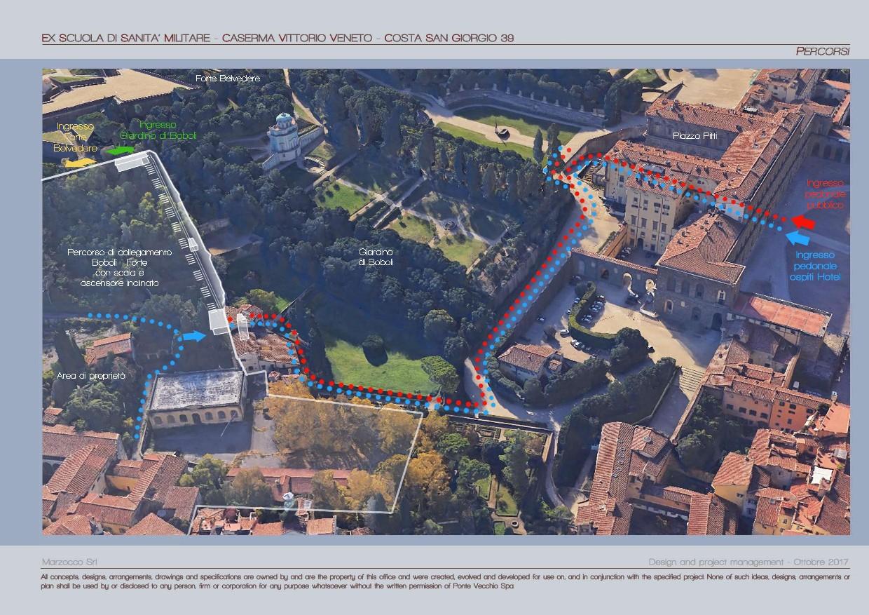 """Firenze, si progetta un hotel extralusso di fianco a Palazzo Pitti. """"Sarà uno scempio"""""""