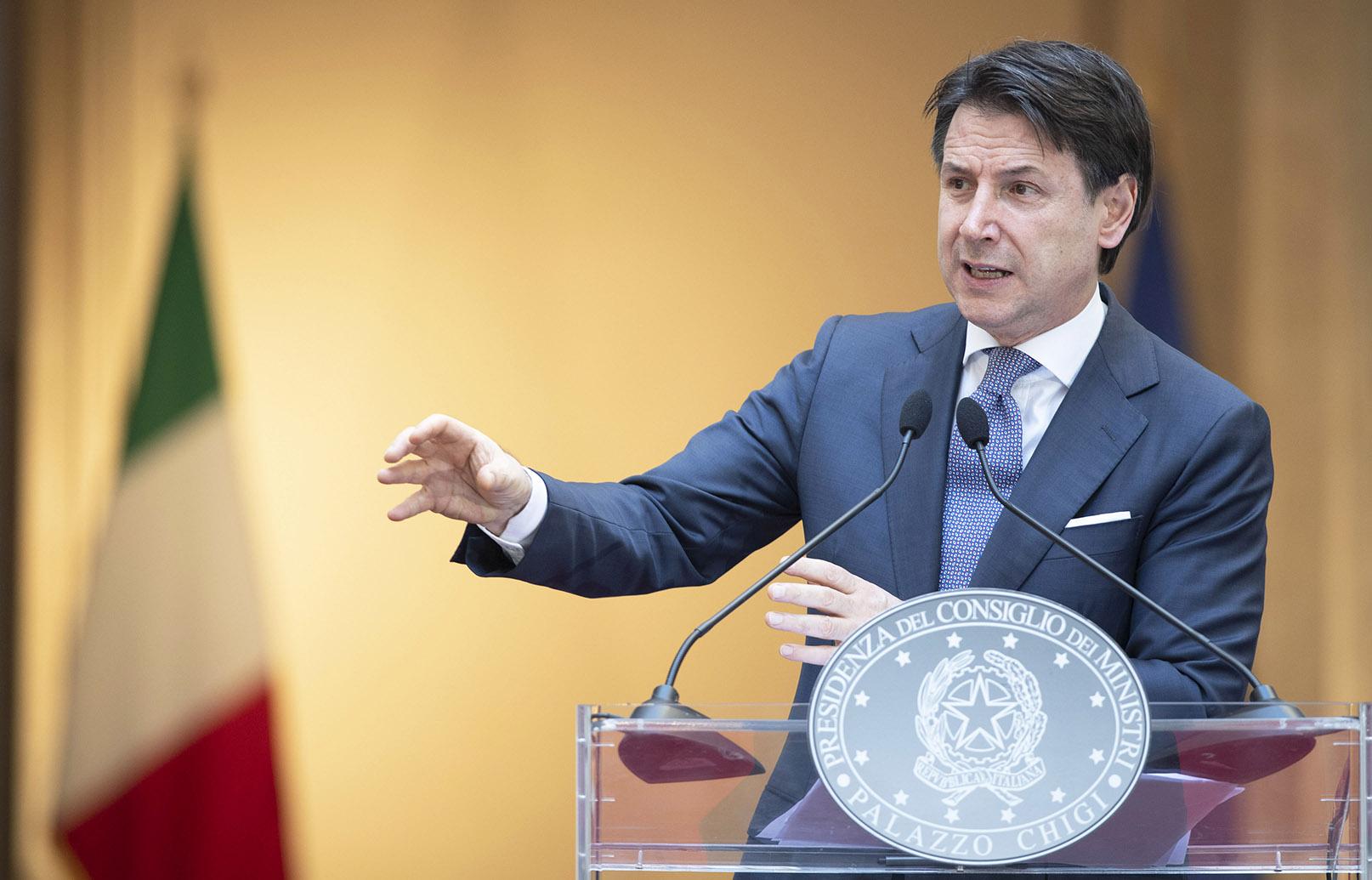 """Conte: """"ora concentriamoci sul Brand Italia e promuoviamo il nostro patrimonio artistico e naturale"""""""