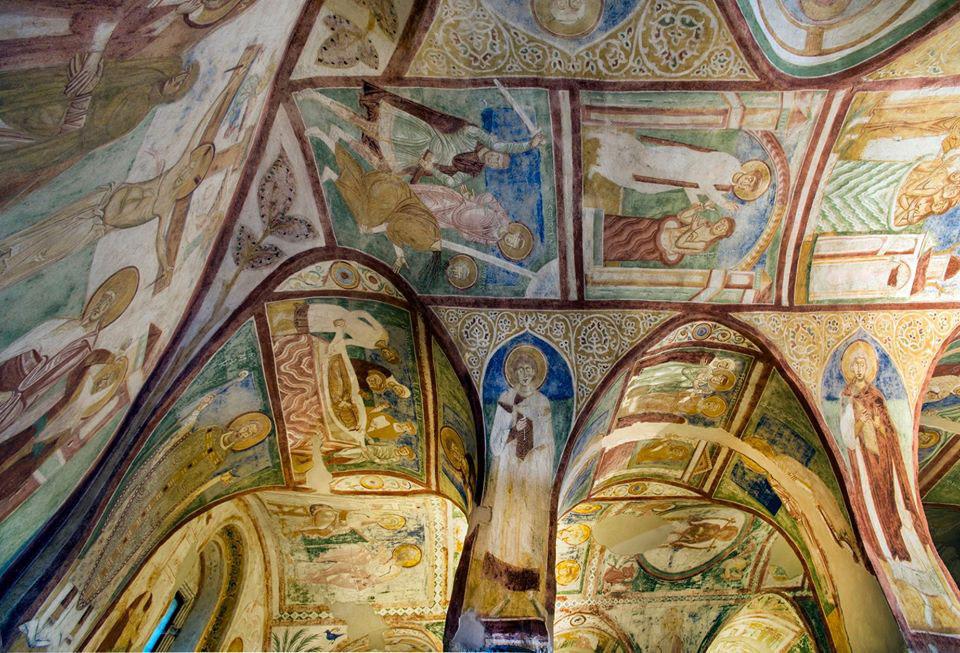 Restaurati gli affreschi della Cripta degli Affreschi della Basilica di Aquileia