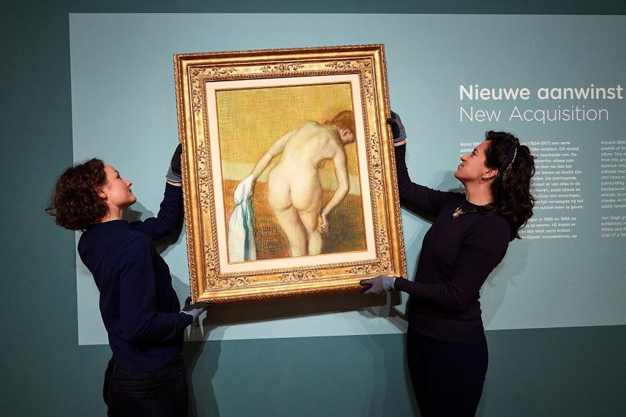 Il Van Gogh Museum di Amsterdam acquista un importante pastello di Edgar Degas