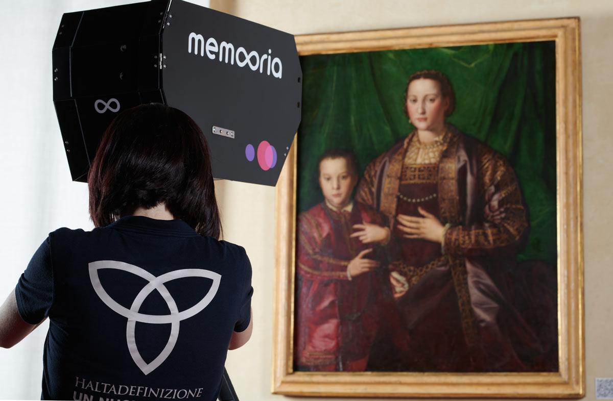 Pisa, il ritratto di Eleonora di Toledo di Palazzo Reale digitalizzato in altissima definizone