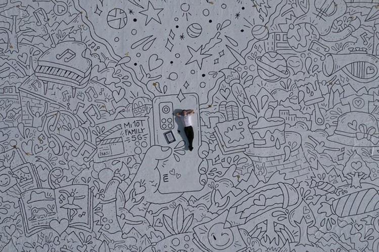 Doodle Dream, entra nel Guinness dei Primati il disegno a mano più grande del mondo