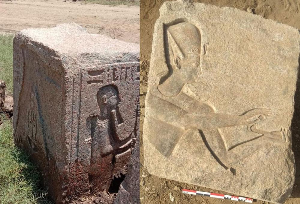 Egitto, scoperte statue del faraone Ramses II e di antiche divinità