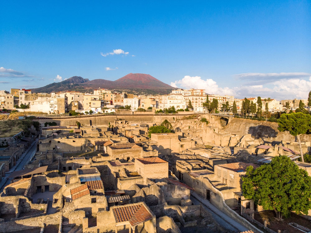 Torna interamente visitabile il Parco Archeologico di Ercolano: ingressi contingentati e tariffe agevolate