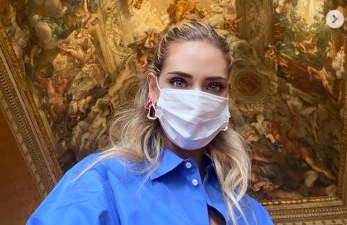 Chiara Ferragni ancora per musei, ora visita Palazzo Barberini a Roma