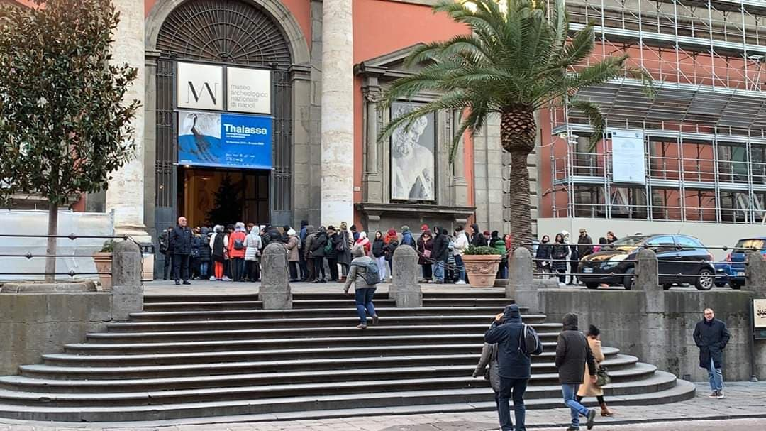 Napoli, Museo Archeologico Nazionale da record: 673mila visitatori nel 2019
