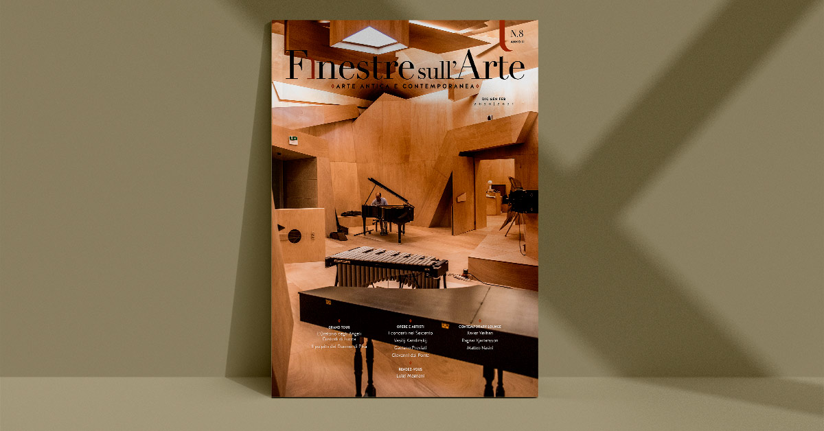 Ecco il sommario del prossimo numero di Finestre sull'Arte on paper, tutto su arte e musica