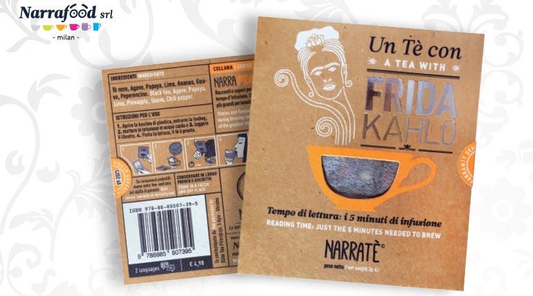 Frida Kahlo diventa un tè, con un racconto da leggere aspettando il tempo d'infusione