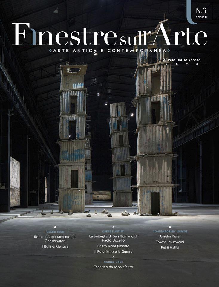 Paolo Uccello, Michelangelo, Murakami, Kiefer. Ecco i contenuti del sesto numero del nostro cartaceo