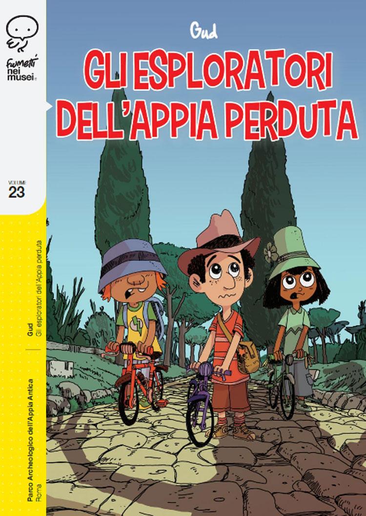 Dalle Gallerie dell'Accademia di Venezia all'Appia Antica: i sei nuovi albi di Fumetti nei Musei