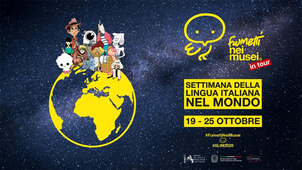 Settimana della Lingua Italiana nel Mondo: protagonisti i Fumetti nei Musei