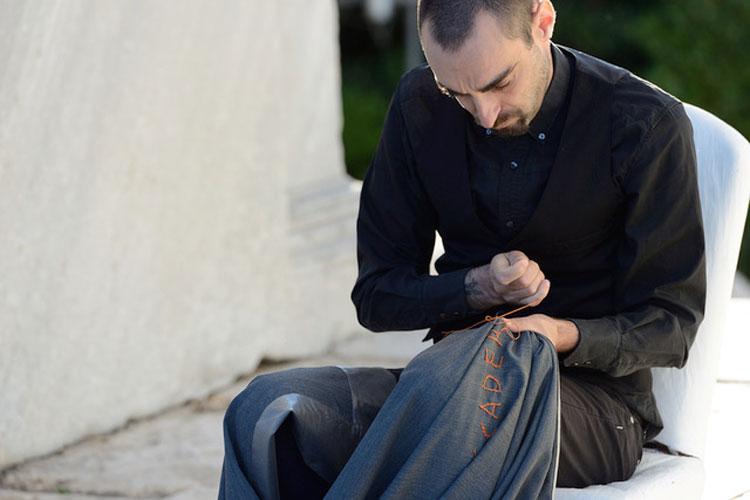 A Senigallia la performance sulla strage di Ustica dell'artista Giovanni Gaggia