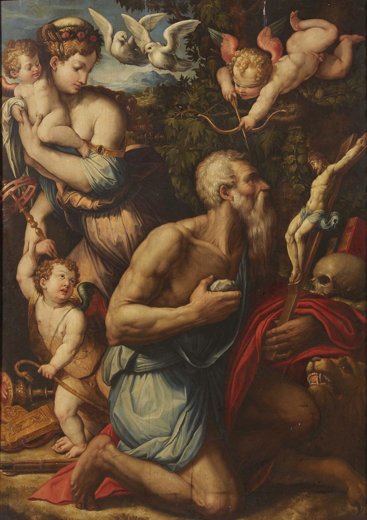 Importante dipinto di Giorgio Vasari venduto in asta per 800.000 euro