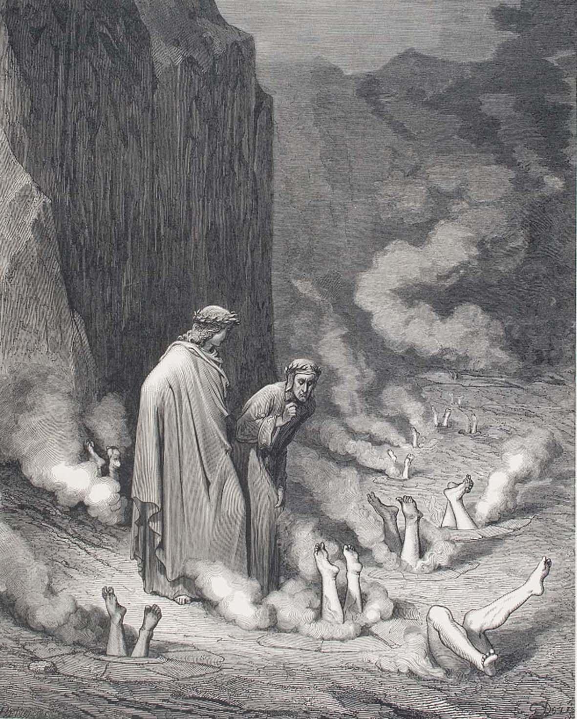 Visioni dell'Inferno: in mostra a Rovigo le illustrazioni di Doré, Rauschenberg e Brand per la Commedia di Dante