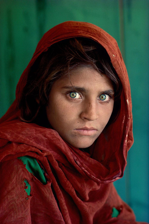 La ragazza afghana di McCurry arriva per la prima volta in Veneto