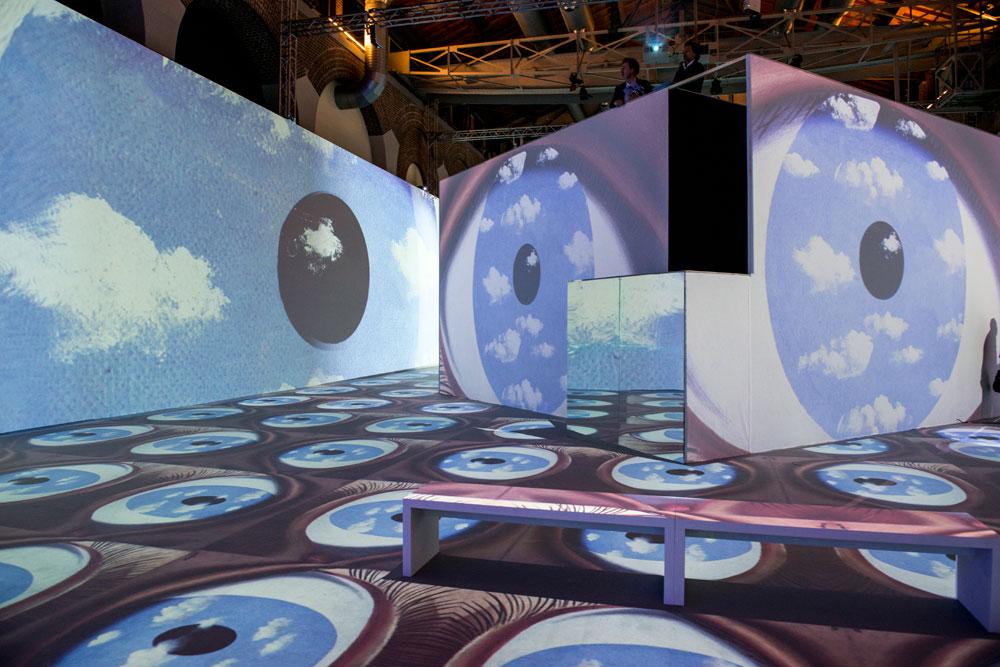 Lo spettacolo immersivo Inside Magritte si trasferisce in Corea del Sud