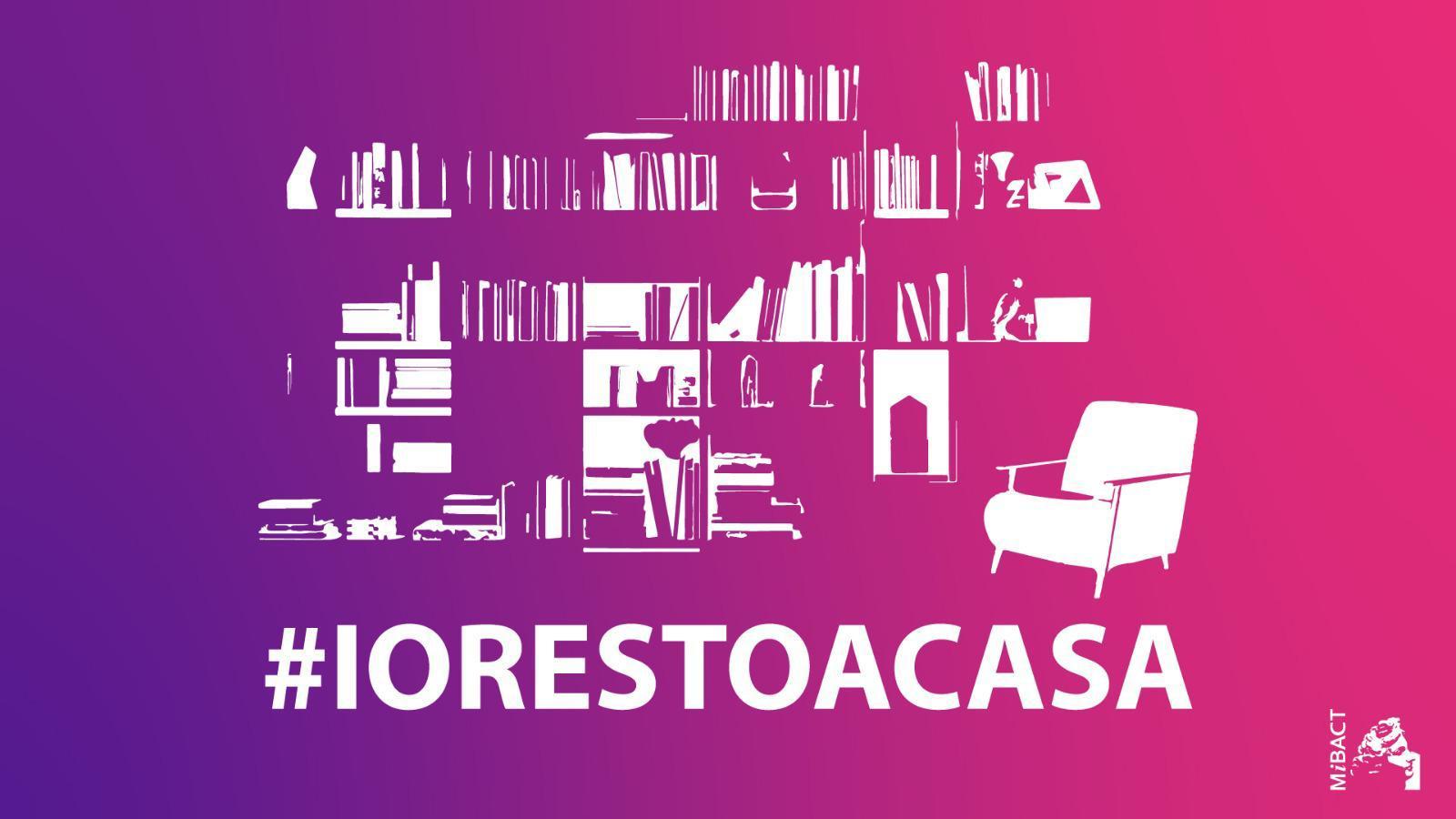 State a casa! Adesso ve lo dicono anche artisti e musei. #iorestoacasa è l'hashtag da far circolare