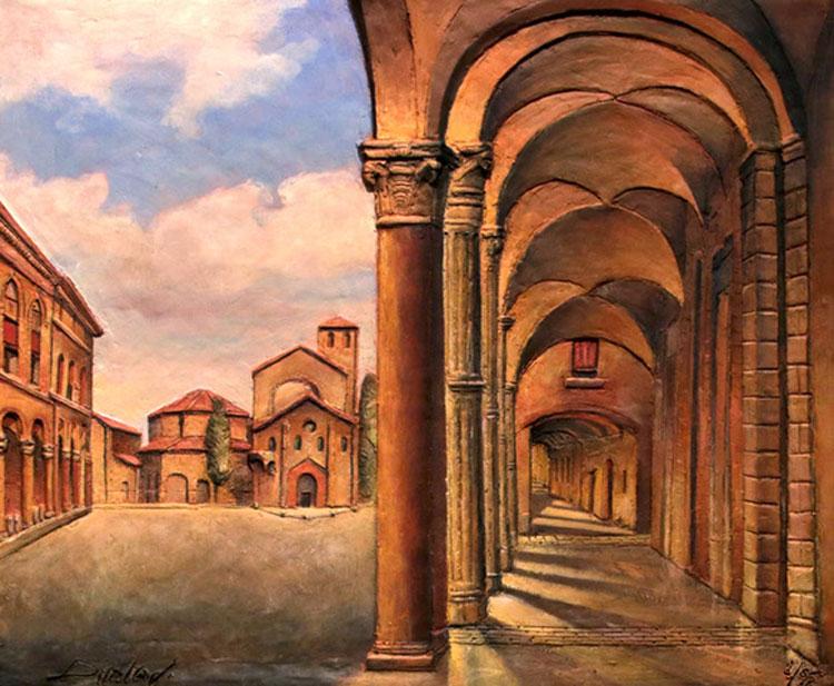 Un inedito nella seconda tappa della mostra dedicata ai portici di Bologna