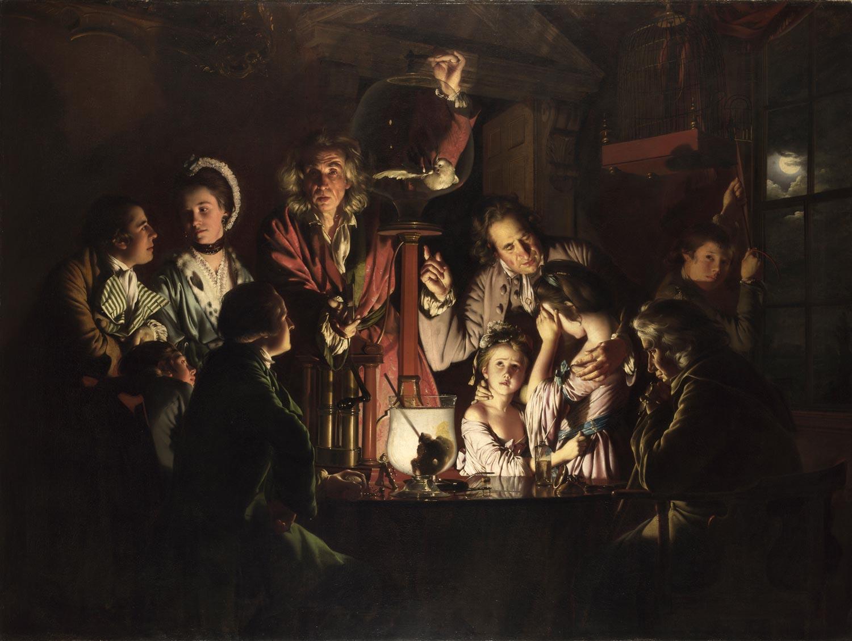 Le reazioni di fronte alla scienza: l'Esperimento di Wright of Derby in mostra agli Uffizi