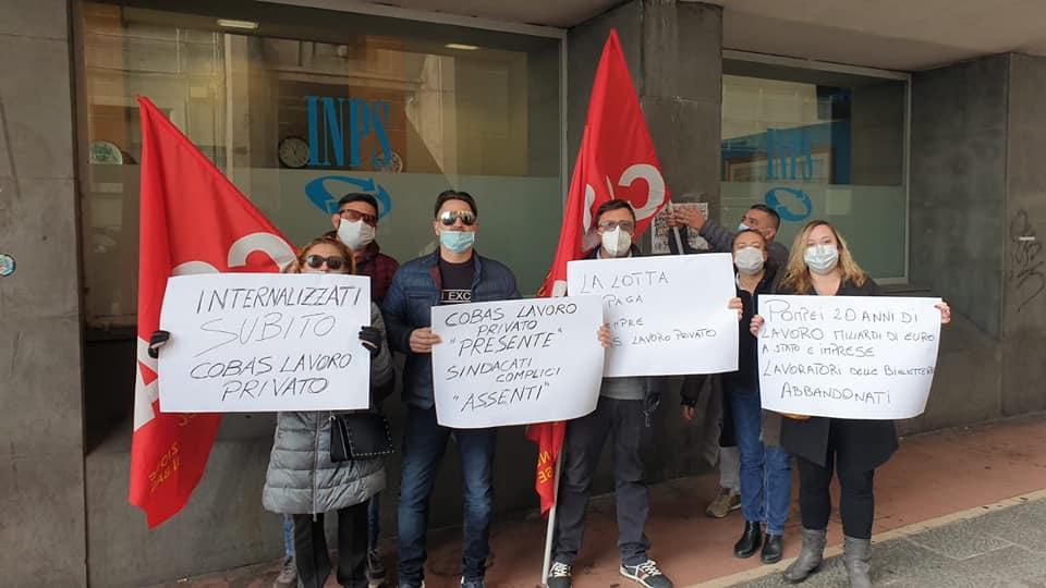 """Pompei, lavoratori biglietterie senza cassa integrazione da mesi: """"chiediamo internalizzazione"""""""