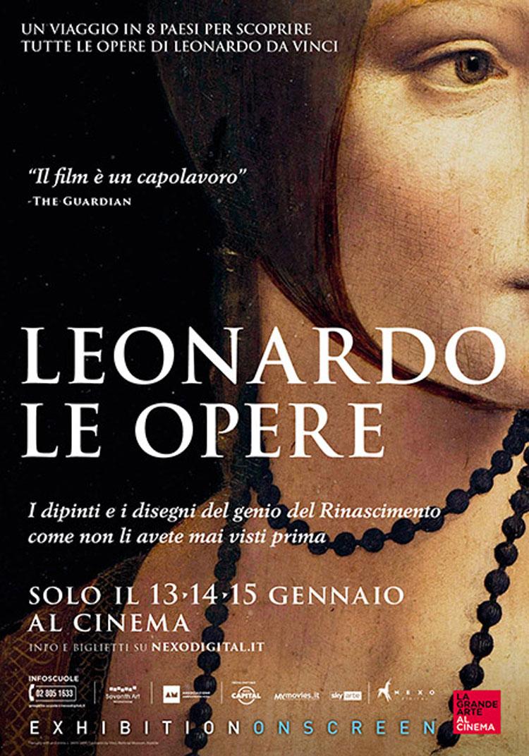 Al cinema un'inedita visione in Ultra HD delle più celebri opere di Leonardo