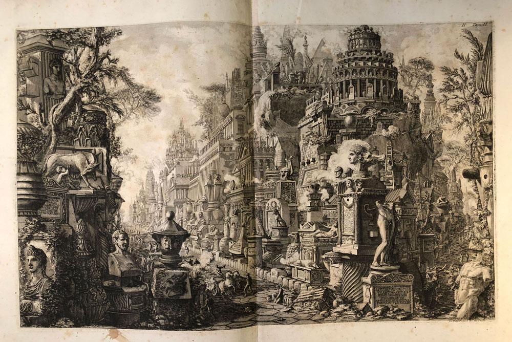 La Biblioteca Braidense dedica una mostra a Piranesi per i 300 anni dalla sua nascita