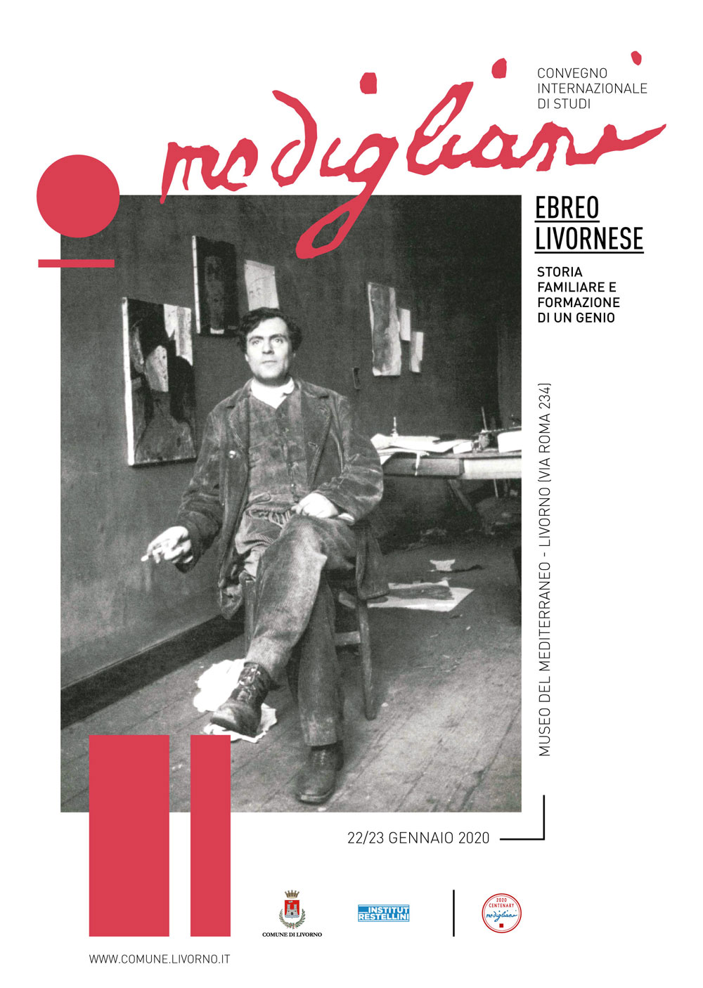 A Livorno un convegno internazionale sulla storia di Modigliani ebreo livornese
