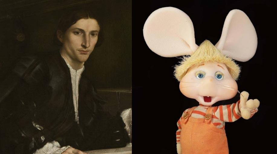 Cosa c'entra Topo Gigio con Lorenzo Lotto? Uno spettacolo teatrale risponde alla domanda!
