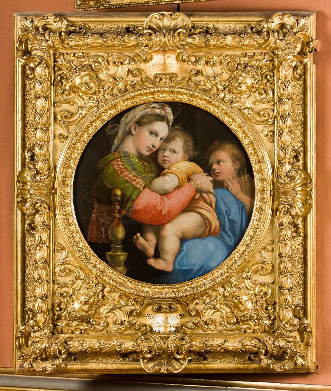 Tour virtuale tra i capolavori di Raffaello alle Gallerie degli Uffizi