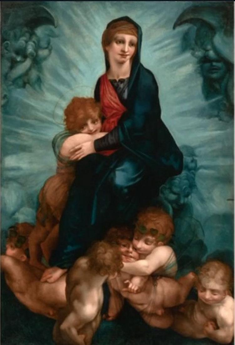 L'Hermitage presenta al pubblico italiano un capolavoro di Rosso Fiorentino tornato nelle sue sale dopo un lungo restauro