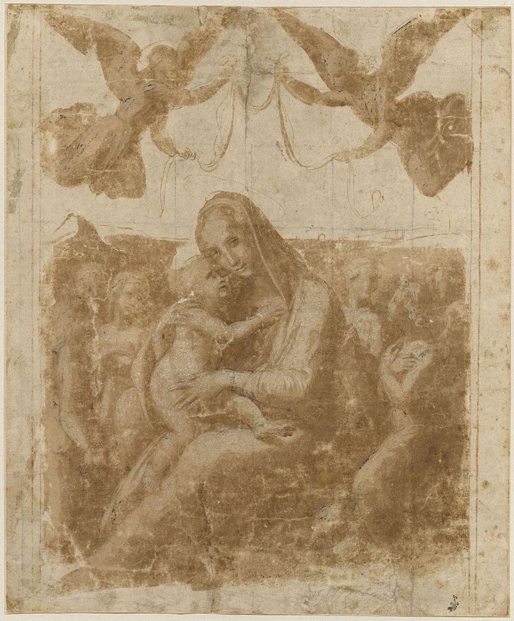 Raffaello a Chantilly. In mostra dipinti e disegni del maestro e dei suoi allievi