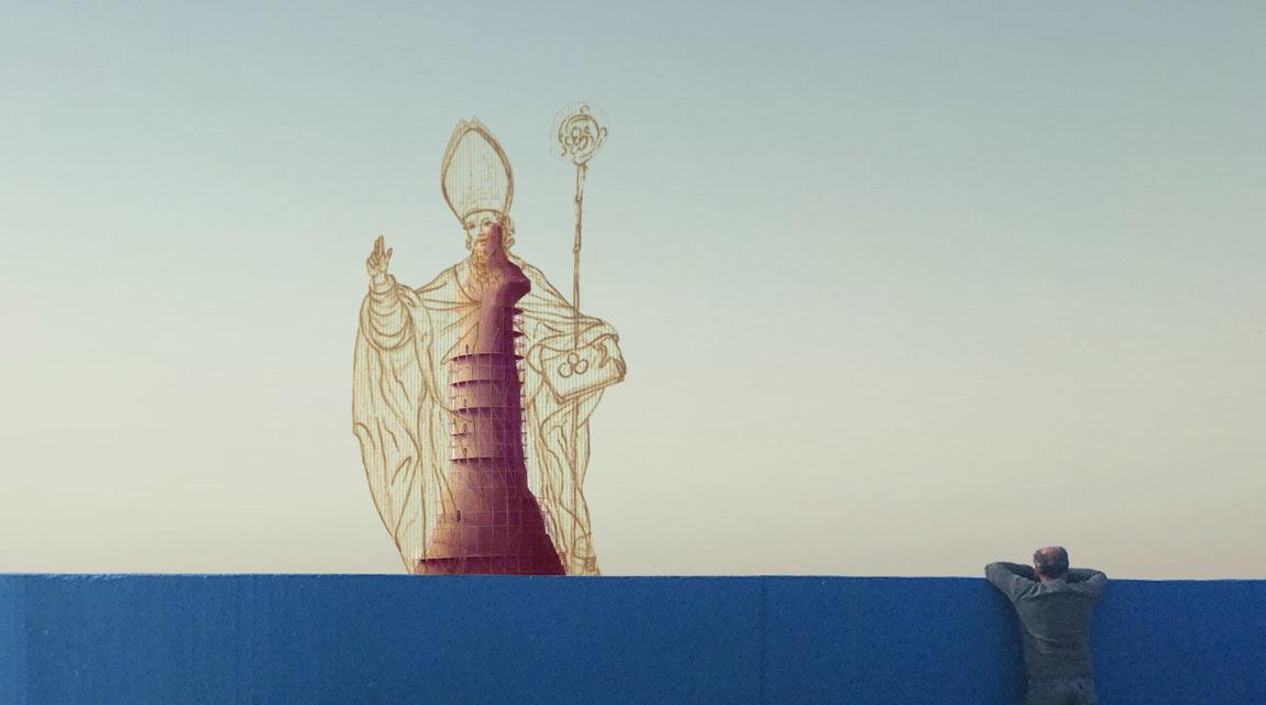 """Bari, appello contro il progetto per statua colossale di San Nicola: """"ci renderà ridicoli"""""""