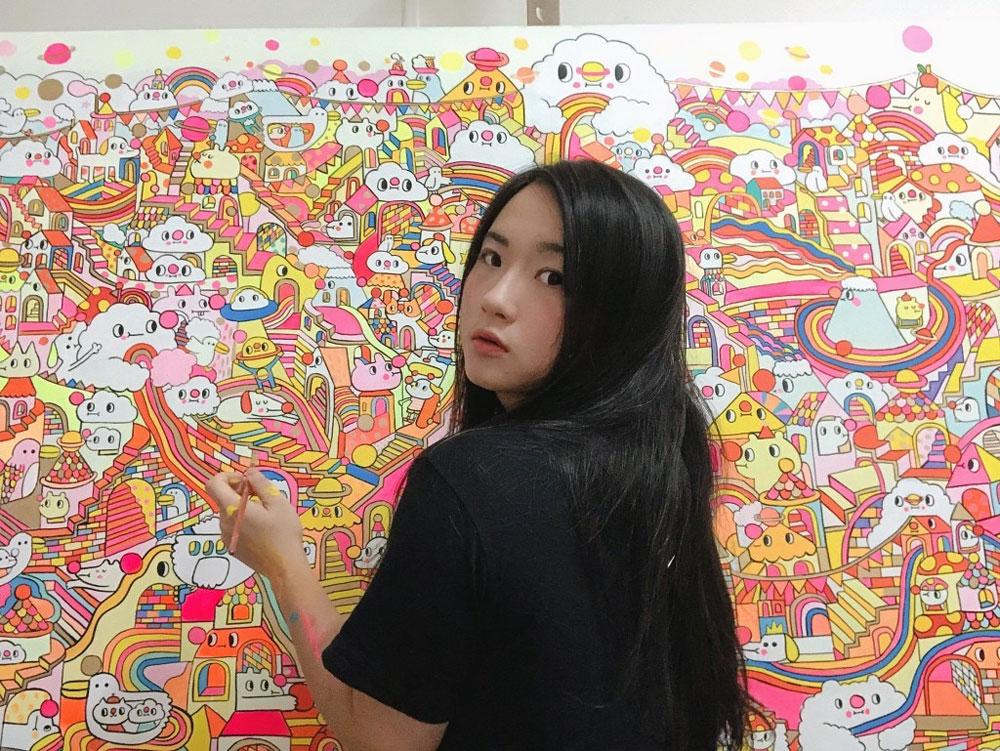 Gli street artist di tutto il mondo presentano il primo colouring book mondiale della street art