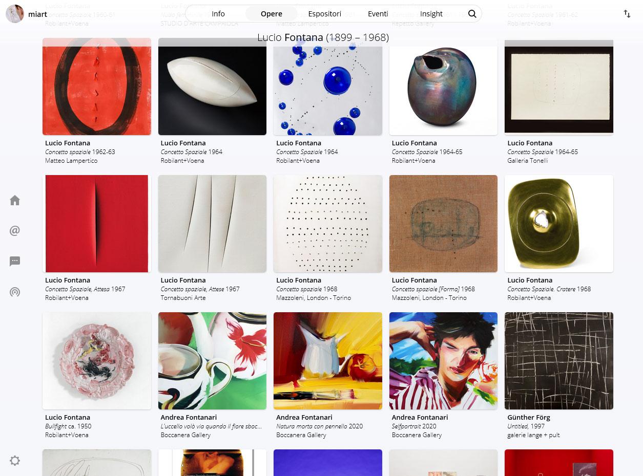 Miart sbarca sul web. Parte oggi la prima edizione digitale della fiera d'arte