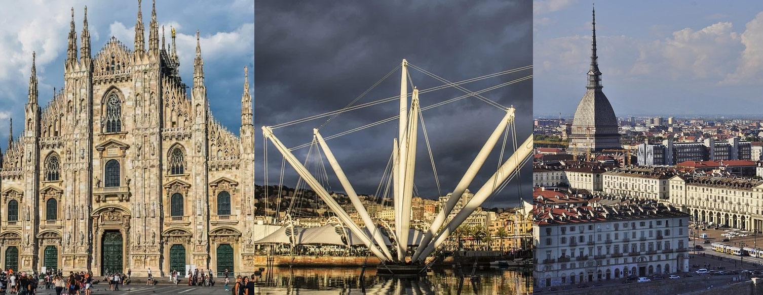 Cultura e turismo: Milano, Genova e Torino creano un asse per promuovere i rispettivi territori