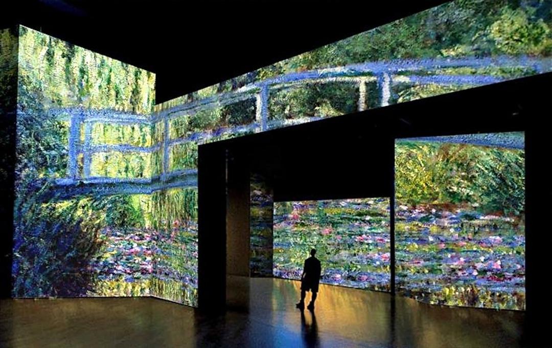 Milano, al Teatro degli Arcimboldi arriva l'esperienza immersiva su Claude Monet