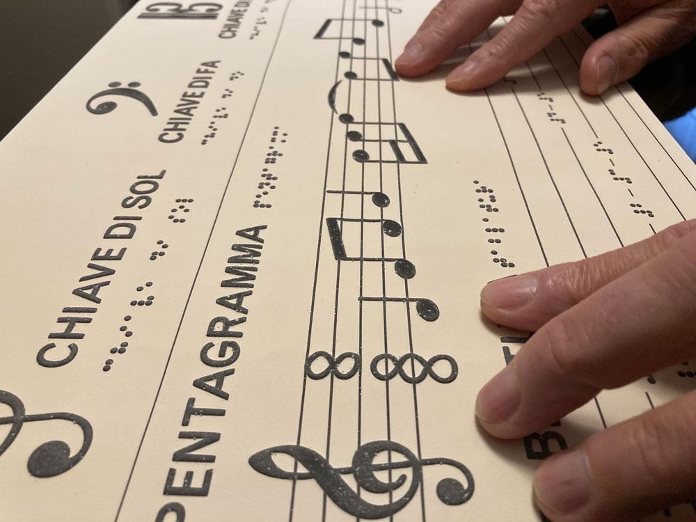 Bologna, Museo della Musica accessibile a non vedenti grazie a nuovi percorsi audiotattili